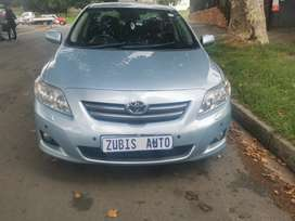 2009 TOYOTA COROLLA PROFESSIONAL WITH AN ENGINE CAPACITY OF 1,8