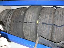 car tires ( INCLUDING RIMS)
