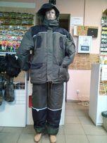 Тёплый новый костюм для зимней рыбалки.