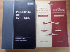 Law of Evidence set