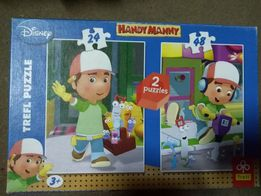 Handy Manny puzzle 2 w 1