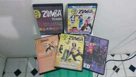 Zumba dvds for sale
