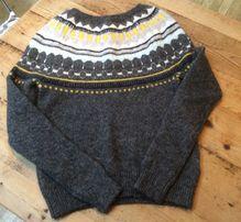 Джемпер свитер кофта шерсть альпака Англия новый р М