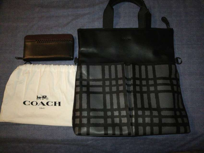 Coach bag and wallet 0
