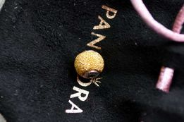 Pandora Essense Sensetivity шарм бусина золото серебро