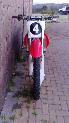 Crf 250R Twin pipe