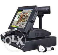 Touch Screen POS System With Full Kits(Software Inclusive) 0