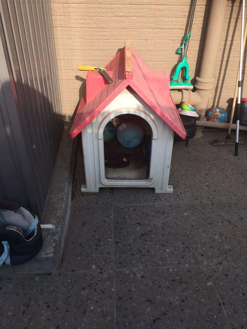 Kennel for a small dog 0