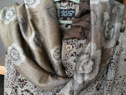 Жаккардовое пальто (новое)