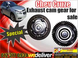 Chev Cruze new and used spares\parts-Cruze cam gear