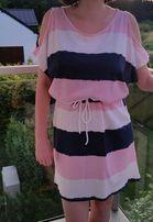 Sukienka nienoszona lato odkryte ramiona