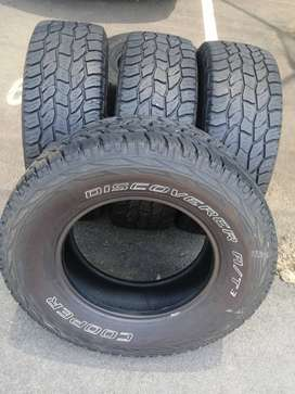 265 70 R17 Cooper Discovery All Terrain Tyres