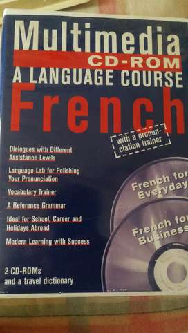 Mult media language courses