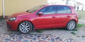 Golf 6 in Good condition