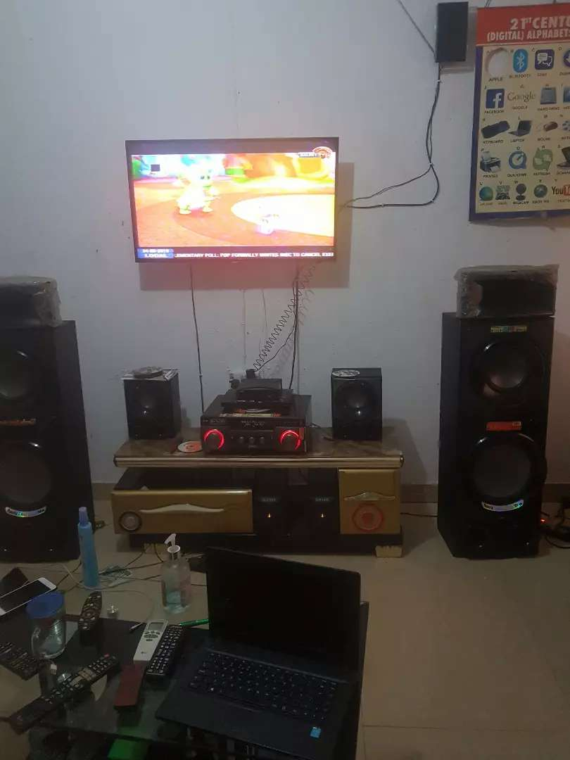 LG Home theater system 0