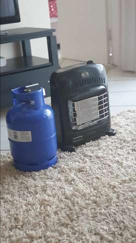 Small heater and gas combo-For sale