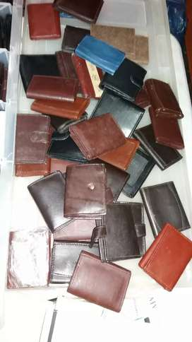 Genuine Leather Wallets & Purses