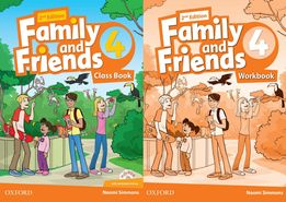 Family and Friends 4: ClassBook + Workbook + CD 2-nd edition