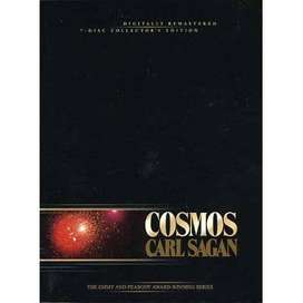 DVD COSMOS CARL SAGAN COLLECTOR'S EDITION 7 DISC SET SPACE DOCUMENTARY