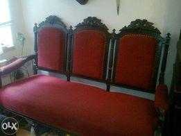 Винтажный гарнитур диван и кресло