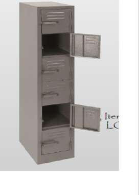 1800x300x450 6 compartment locker
