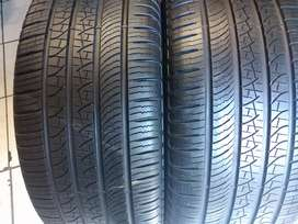 Two seconds hand tyres sizes 275/45/20 pirelli normal now available
