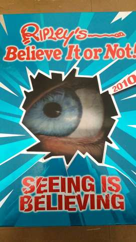 Ripley's Believe it or not! 2010 Book for sale