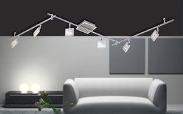Lampa sufitowa LED listwa DANN Paul Neuhaus 6966-17 żyrandol