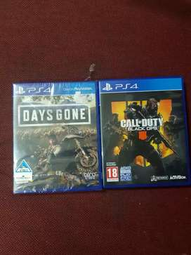 Ps4 DAYS  GONE  +  CALL OF DUTY  BLACK OPS 4