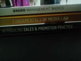 Marketing textbooks