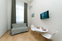 Большие двухуровневые апартаменты, Машиностроительная 41, SmartHouse