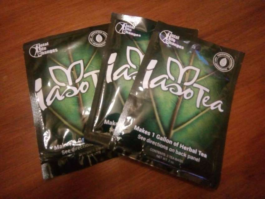 Lose weight with Iaso tea. 0