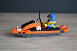 Lego City 4898 motorówka