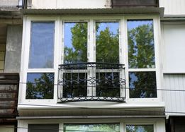 Французский балкон изготовление + монтаж