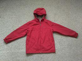 Термо куртка демисезонная красная Quechua размер 146-152 в идеале