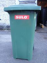 Мусорный бак,контейнер(бак сміттевий,сміттевий контейнер)120,240лновый