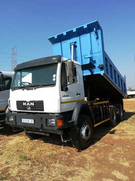 MAN 280 Hp 10 CUBE is Tipper R500000 (plus VAT if not CASH)