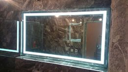 Зеркало с LED подсветкой, зеркало для ванной.