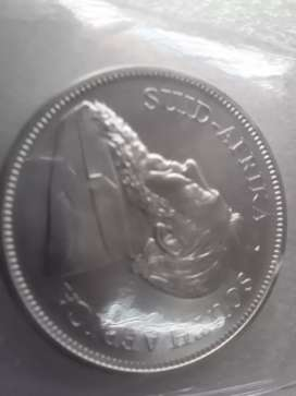 Silver one ounce kruger rand