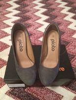 Туфли замшевые Plato новые!