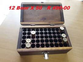 Ammunition boxes and other Wooden boxes