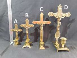 Cross with Candle Holder