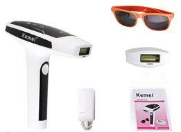 Лазерный фото-эпилятор Kemei Безболезненное удаление волос