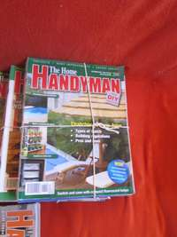 Image of HOME HANDYMAN & Woodwork Magazines, Video's, DVD & Other