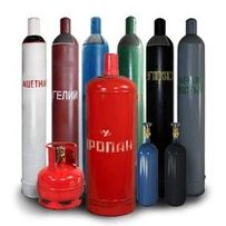 Заправка баллонов - кислород,азот жидкий,углекислота, пропан, ацетилен