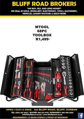 TOOL BOX INCL TOOLS
