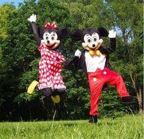 Myszka MINI MIKI chodzące reklamowe żywe maskotki kostiumy promocyjne