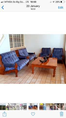 Lounge chairs and couches