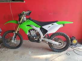 Kx 450 with papers 2008 model to swop for a quad of the same value