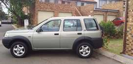2002 TD4 2.0 Land Rover Freelander SUV 4WD with Tiptronic gearbox